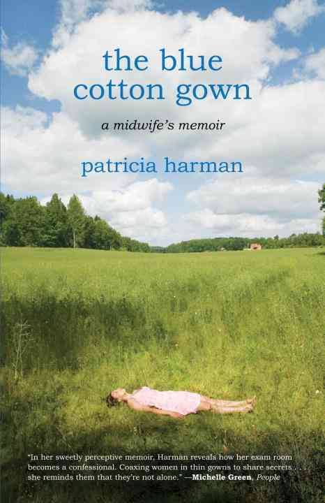 blue cotton gown book