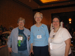 Patti Clark, Rev Shirley Ranck, Gretchen Ohmann