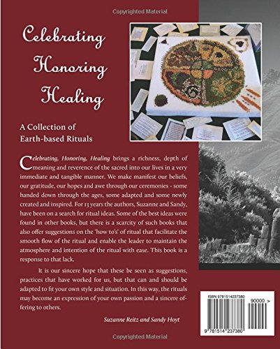 Celebrating Honoring Healing book back