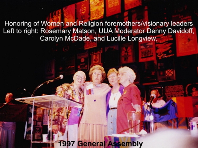 1997 GA Honoring our foremothers