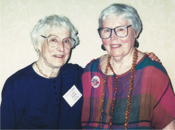 Lucile Longview and Rosemary Matson