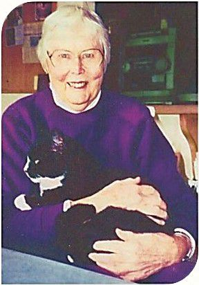Rosemary Matson and cat
