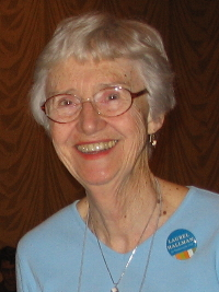 Rev Shirley Ranck, UUWR co-convener